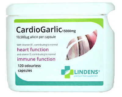 Cardio d'Ail Huge 15000mg 3-PACQUET 360 gélules - Inodore Oil Softgels allicine