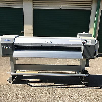 "Used Mutoh Valuejet 1614A - 64"" wide format printer - Additional New Printhead"