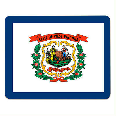 Mouse Pad - WEST VIRGINIA- USA - State of West Virginia - mousemat - mousepad