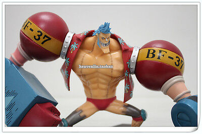 """One Piece FRANKY Figure 7"""" POP OP Cartoon Character Collectibles Luffy`s Partner"""