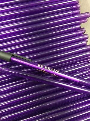 Custom Printed Purple Pens (30) with Special Message Great for Giveaways!!
