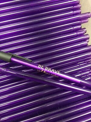 Lovely Purple Stick Pens (30) with a Special Message ~ Great for Giveaways!!