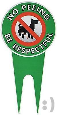 NEW Extra Large - No Peeing Dog Signs | Stop Dogs From Peeing On Your Lawn