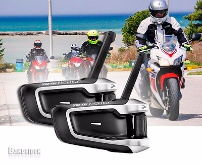 Cardo Scala Rider Packtalk Duo Bluetooth Motorcycle Headset Communication System