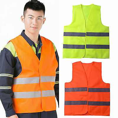Safety Security Visibility Reflective Vest Construction Traffic/Warehouse CHIC