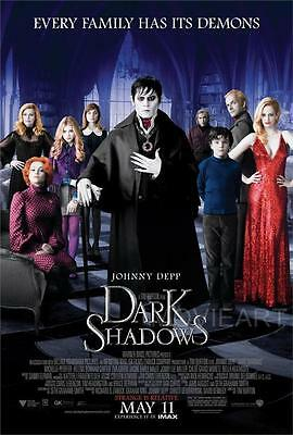 Dark Shadows Movie Poster Film A4 A3 Art Print Cinema