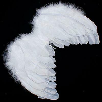 Angel White Feather Wings Baby Photo Props Halo for 6-18M Kids