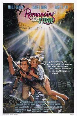A3 ROMANCING THE STONE MOVIE Film Cinema wall Home Posters Print Art #21