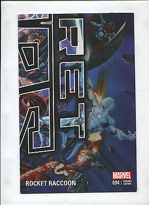2015 Secret Wars Alex Ross 4 Issue Nycc Rrp Connecting Cover Set! Rare! 9.2 Ob!