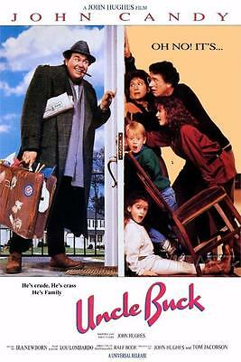 Uncle Buck Movie Poster Film A4 A3 Art Print Cinema