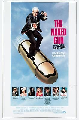 The Naked Gun Movie Poster Film A4 A3 Art Print Cinema