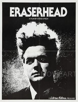 Eraserhead Vintage Movie Poster Film A4 A3 Art Print Cinema