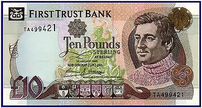 Northern Ireland 10 Pounds 1998 (P-136a) Beautiful Coloring!