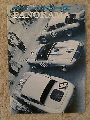 1964 Porsche PCA Panorama Magazine Vol#9 #5 May '64 RARE!! Awesome L@@K