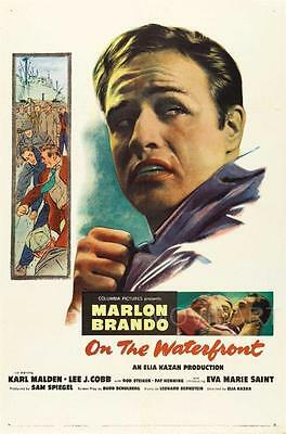 On The Waterfront Vintage Movie Poster Film A4 A3 Art Print Cinema #2