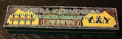 Opera Harmonica Deluxe Quality 32 Reeds In Orginal Box