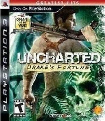 Playstation 3 Ps3 Game Uncharted Drake's Fortune  New