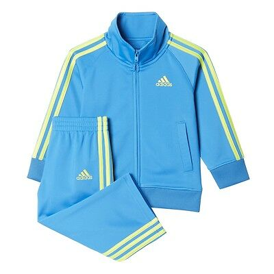 Adidas Baby & Toddler Impact Tricot Track Suit set B77660 Sizes: 3 - 24 Month