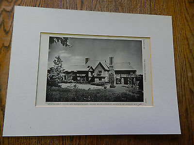 House of John T. J. Clunie,West Manchester, MASS.,WW&K,Amer Arch,1928,Lithograph