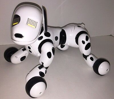 Zoomer - Robot Dalmation Dog - 2012 - Spin Master - Your Real Best Friend WORKS