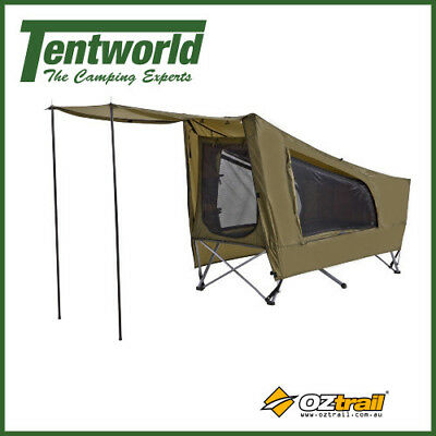 OZtrail Easy Fold Tent Stretcher Bed - Single