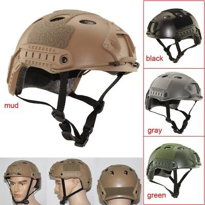 Tactical Airsoft Paintball Protective Combat FAST Helmet Riding Gaming Climbing