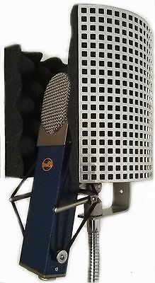 MINI Microphone Screen Isolator Reflection Filter Shield Portable Vocal Booth