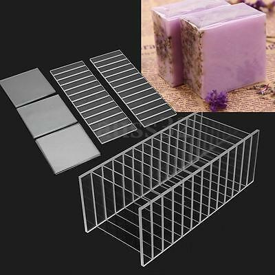 Swirl Loaf Soap Making Mold Acrylic 2 Render Board +12 pcs for HandMade Supplies
