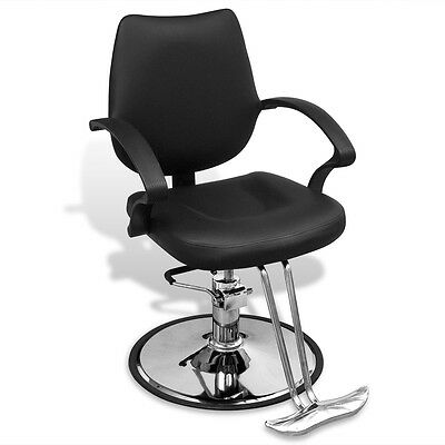 Salon Cutting Hairdressing Chair Gas Lift Styling Barber Furniture PU Leather
