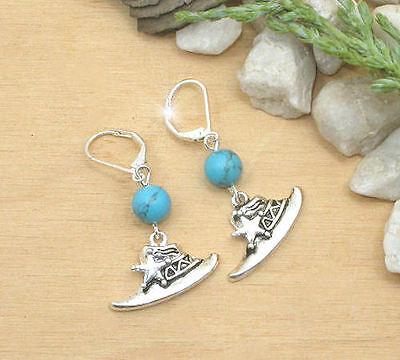 Horse Western Jewellery Ladies Womens Cowboy  Hat Earrings