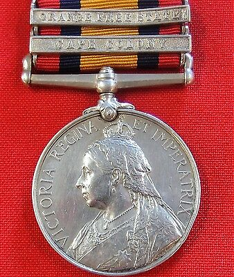 *boer War Casualty* Pre Ww1 British Army Queens South Africa Medal Scots Guards