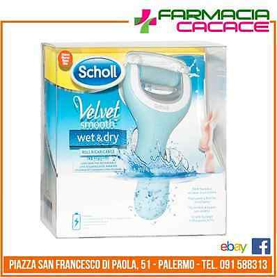 Scholl - Velvet Smooth Wet & Dry - Roll pedicure Professionale