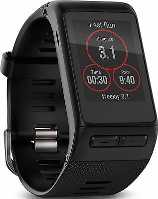 Garmin Vivoactive HR and GPS X-Large Watch - Black