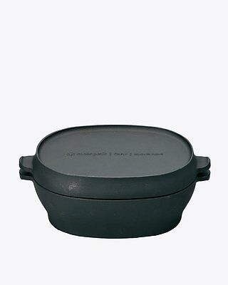 New Snow Peak Micro Oval Oven Outdoor Camp Iron Cookware