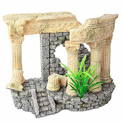 Aquarium Ornament Greek Ruin Realistic 15cm