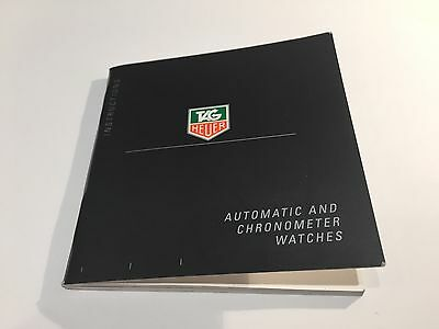 TAG HEUER - Instructions - Automatic & Chronometer Watches - 9,4 x 9,4 cm