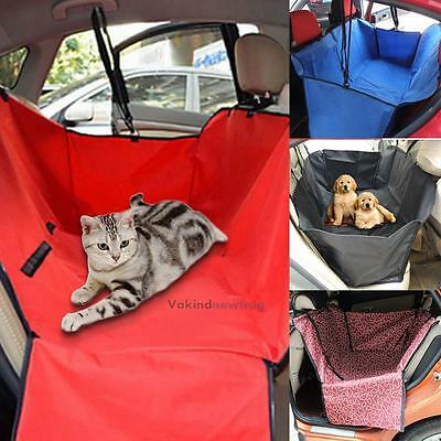 Pet Dog Cat Car Rear Back Seat Waterproof Cover Safety Mat Protector Hammock NEW