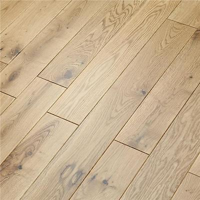 Solid Oak Wood Flooring - Natural Lacquered - 18mm x 90mm