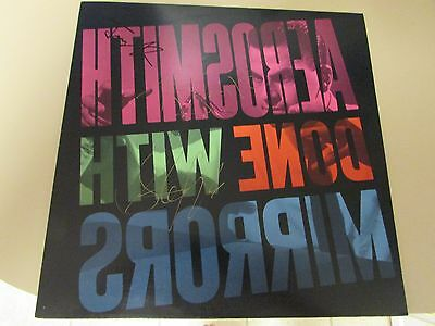 Original RaRe AUTOGRAPHED AEROSMITH 1985 Done With Mirrors LP