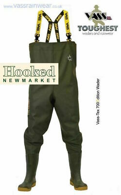 VASS TEX 700-E NOVA Edition Chest Waders NON STUDDED- various sizes