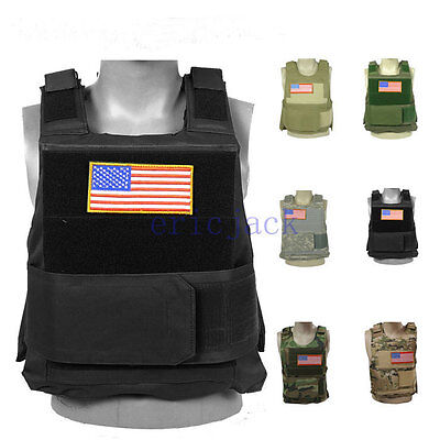 Colors New Syle Tactical Airsoft Paintball Body Armor Vest-D816