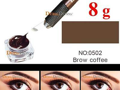 Microblading Farbe Permanent Make up Farbe-BROW COFFEE -8g/29,99€ (100g/374,88€)