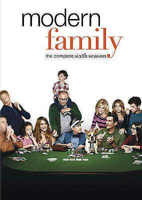 Modern Family: The Complete Sixth Season (DVD, 2015, 3-Disc Set) NEW SEALED