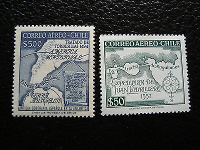 CHILI - timbre yvert et tellier  aerien n° 177 185 n** (C5) stamp chile
