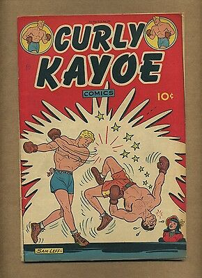 Curly Kayoe Comics #1 (VG-) United Features 1946 Sam Leff Fritzi Ritz (c#11224)