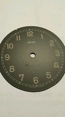 Vacko clock steel face replacement n.o.s.