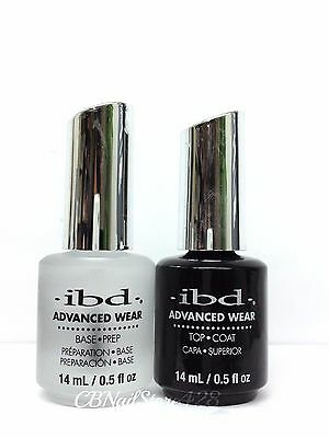 IBD Advanced Wear Pro.Lacquer Base coat  - Top coat  .5 fl oz/ 14 ml