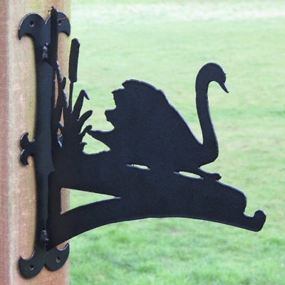 Swan Hanging Basket Bracket