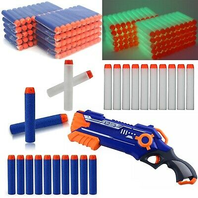 New Gun Soft Refill Bullets Darts Round Head Blasters For Nerf N-Strike Toy