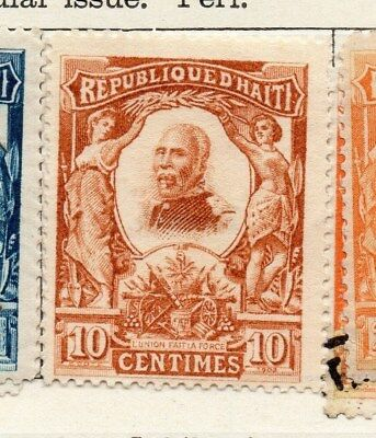 Haiti 1904 Early Issue Fine Mint Hinged 10c. 100916